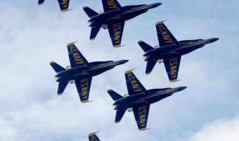 The Blue Angels Dazzle Over Kaneohe Bay Once Again