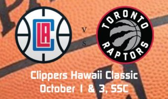 Clippers Will Host Raptors in October at SSC