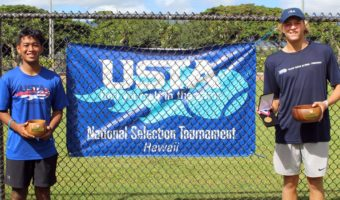 Double Doubles Victory for Hawaii Tennis