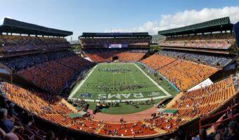 Los Angeles Rams Make Hawaii Fans Happy